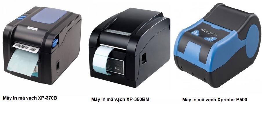 máy in tích hợp cả hóa đơn và tem nhãn